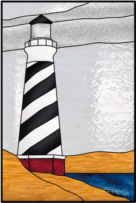 stained glass lighthouse l lighthouse stained glass patterns free patterns