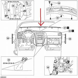 Service Manual  2011 Lincoln Mkt How To Remove Heater Core
