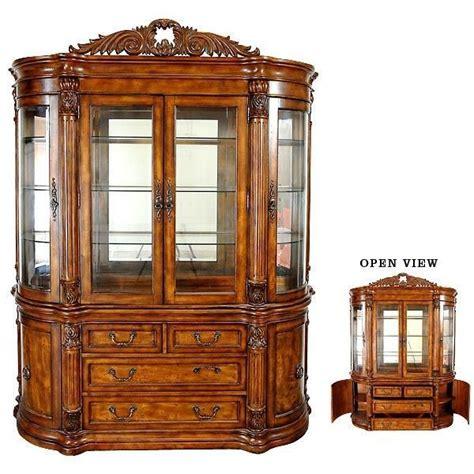 glass curio cabinet with lights china cabinet glass doors lighted hardwood handmade