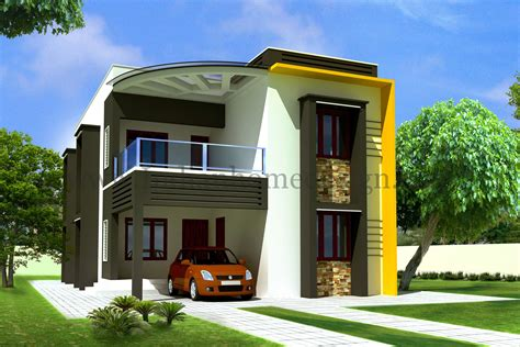 home design by 2050 sq modern exterior home kerala design and floor