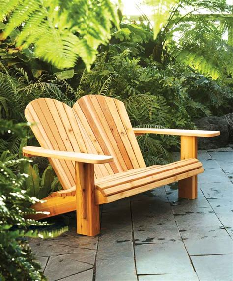 diy adirondack chair plans how to make a loveseat