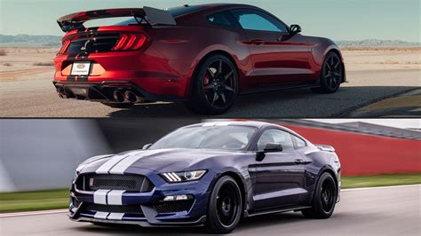 Gt500 Vs Gt350 by 2020 Ford Shelby Mustang Gt500 Vs Gt350 How They Re