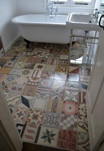 unique bathroom storage ideas mosaic as vintage bathroom floor tile ideas