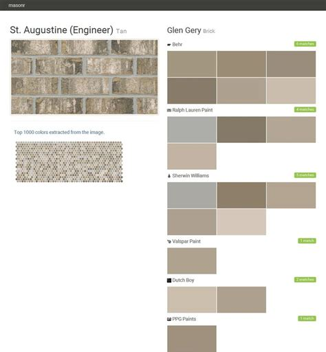 valspar exterior paint colors st augustine engineer brick glen gery behr