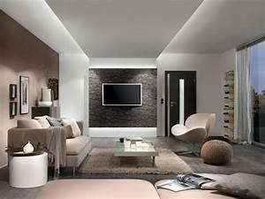 Deckenlampe Wohnzimmer Modern : bilder von wohnzimmereinrichtungen ~ Frokenaadalensverden.com Haus und Dekorationen