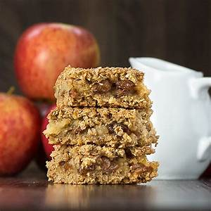 Apple Crumble Flapjacks | Charlotte's Lively Kitchen