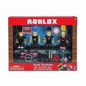 Roblox Punk Rockers 4 Mix Match Set The Gamesmen