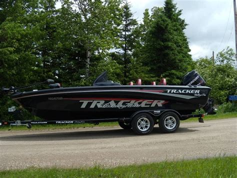 Walleye Boat Hull For Sale by Michael Mcreei S Tracker Boat For Sale On Walleyes Inc