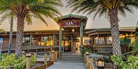 Tiki Bar Melbourne by Grills Seafood Waterfront Restaurant Orlando Port