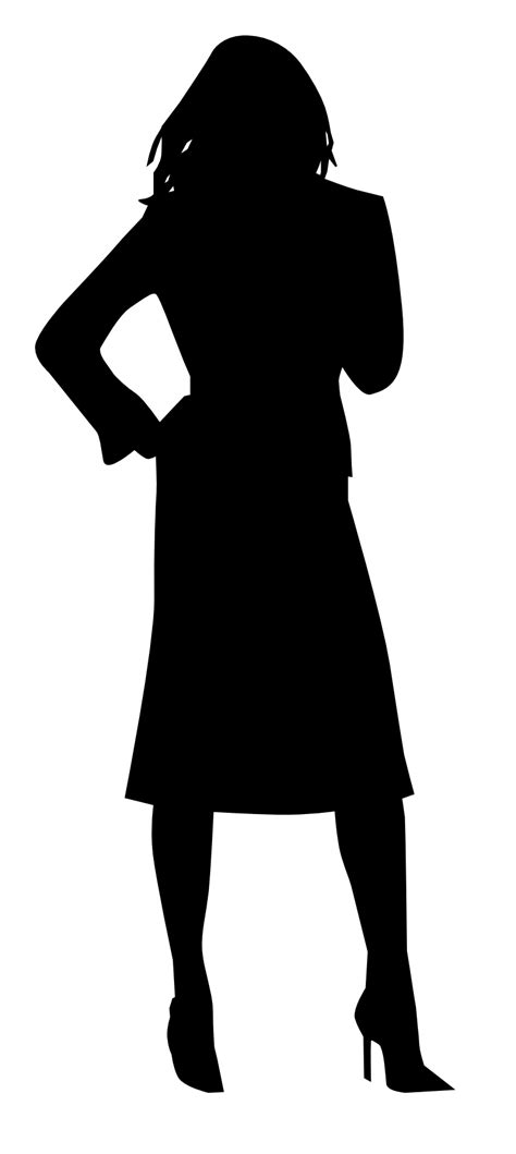 Free Silhouette Of Women, Download Free Clip Art, Free ...
