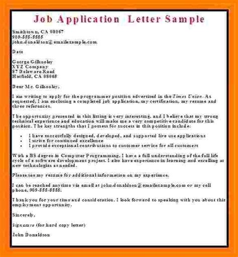 application letter  employment sales slip template