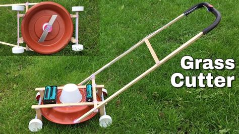 How To Make A Mini Grass Cutter