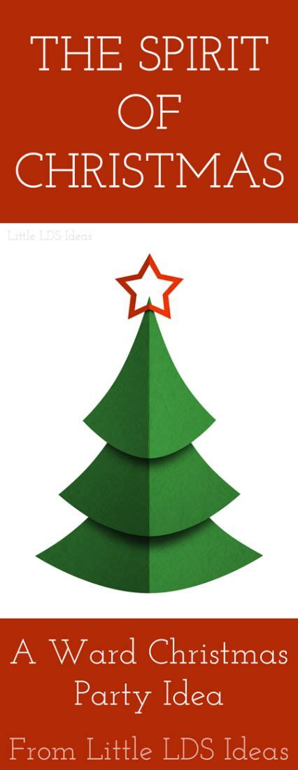 the spirit of christmas a ward christmas program from
