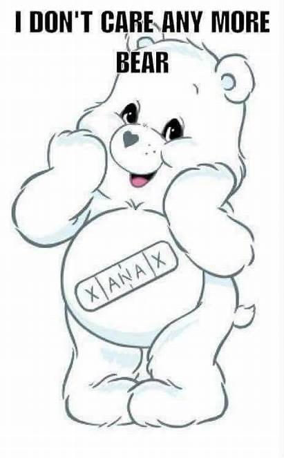 Bear Care Trippy Coloring Cartoon Drawings Drugs