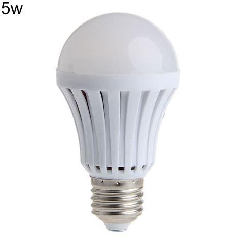 e27 5 7 9 12w 220v led emergency bulb rechargeable