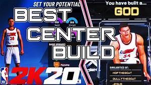 Nba 2k20 Best Center Build Badges Attributes Pie