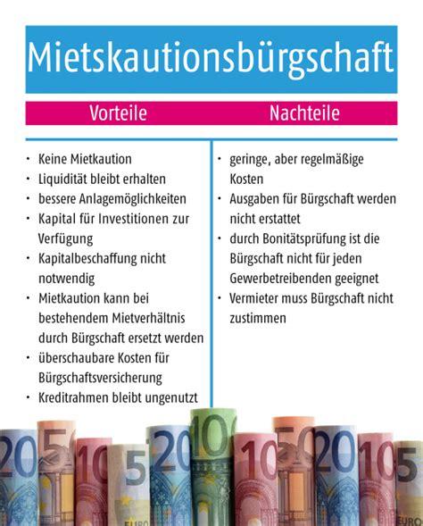 Holzfenster Vorteile Nachteile Und Kosten Im Ueberblick by B 252 Rgschaft Oder Gewerbliche Mietkaution Vor Nachteile