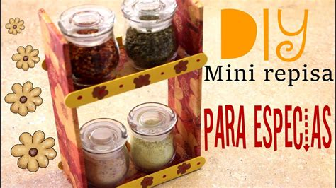 mini repisas de carton  la cocina youtube