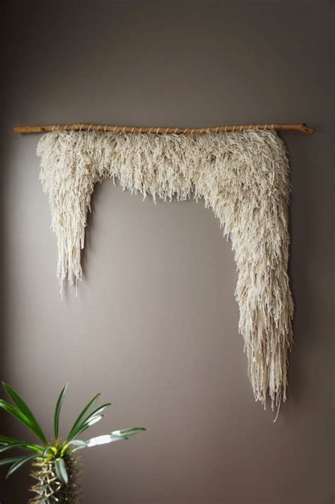 woven wall hanging cotton wool tapestry handwoven