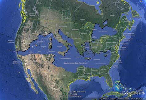 The Mediterranean Sea Of America  Brilliant Maps