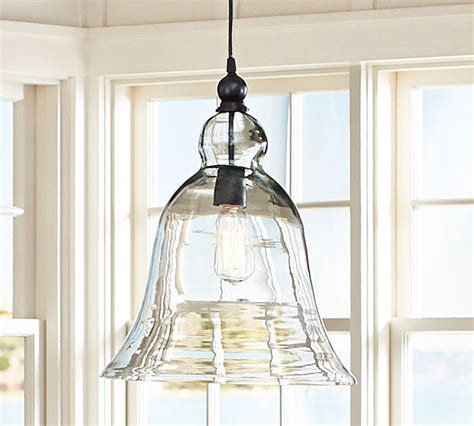 rustic glass pendant pottery barn chandeliers lighting