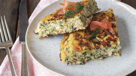 cottage cheese frittata smoked salmon kale cottage cheese frittata recipe