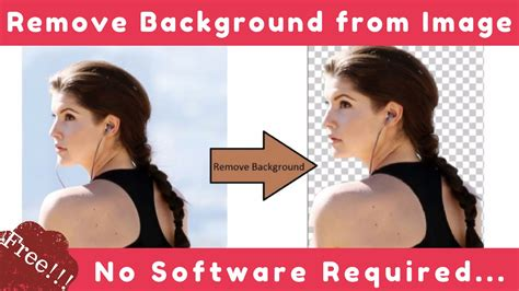 Free Image Background Remover Remove Background From Image Free No Software Needed