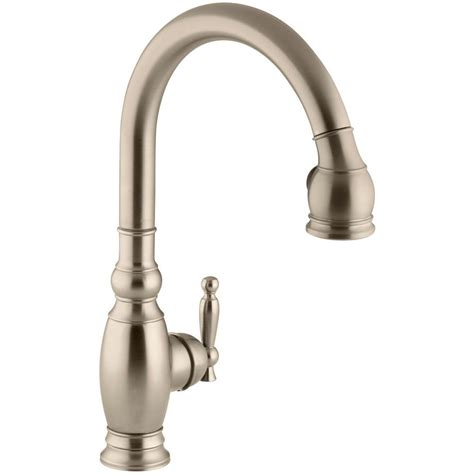 sink faucet kitchen kohler vinnata kitchen sink faucet