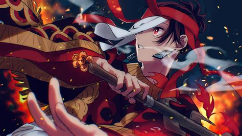 Tanjiro Kamado From Demon Slayer Anime Wallpaper 4k Ultra Hd Id4440