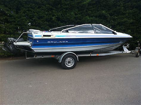 Speed Boats For Sale Uk by Bayliner Bowrider Speed Boat Boats For Sale Uk