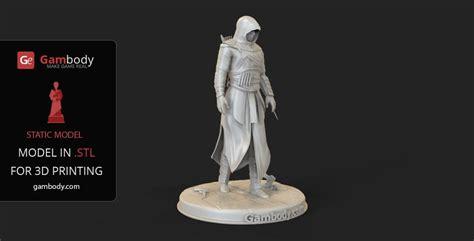 assassins creed  model  print static figure