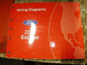 2015 Ford Escape Original Factory Wiring Diagrams Manual