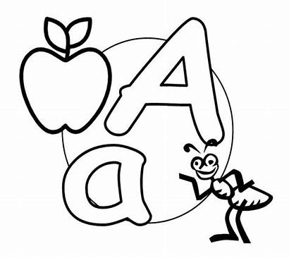Coloring Pages Alphabet Letter Capital Letters Printable