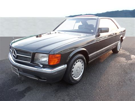 how to sell used cars 1991 mercedes benz sl class electronic toll collection 1991 mercedes benz 560 sec coup 233 for sale at auction