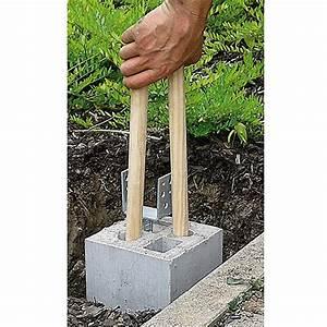 Zäune Beton Sichtschutz : zaun fundamentstein 4in1 grau 19 x 19 x 25 cm beton bauhaus ~ Sanjose-hotels-ca.com Haus und Dekorationen