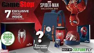 Gamestop Exclusive Spider Man PS4 Collector39s Box