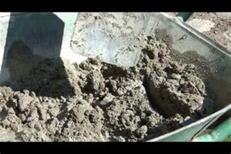 video betonmischung  mischen sie zement