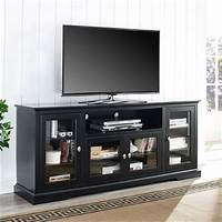 70 inch tv stand Walker Edison 70 inch Highboy TV Stand Black W70C32BL