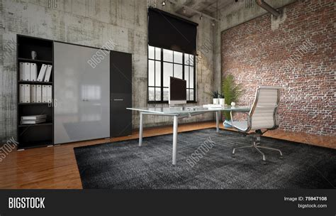 rendering commercial office image photo bigstock