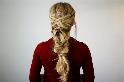 Fishtail Topsy Tail Pony Medium Length Hairstyles With Bangs And Layers How To Make Curl Hairstyle Super Cute For Long Straight Hair Virtual Celebrity Upload Photo What Looks Good On Me Quiz Easy Updos Wedding Tutorials Simple Back School