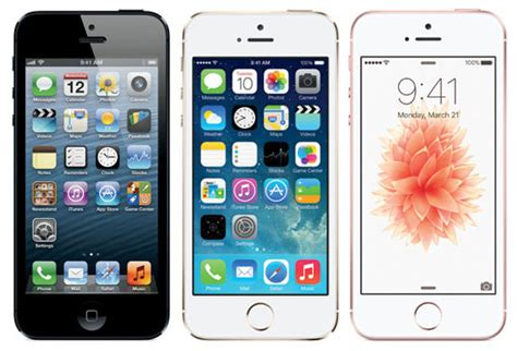 how is the iphone 5 iphone se vs iphone 5s vs iphone 5 everyiphone