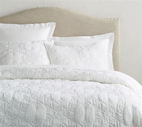 Pottery Barn Coverlets by Karly Snowflake Coverlet Sham Pottery Barn