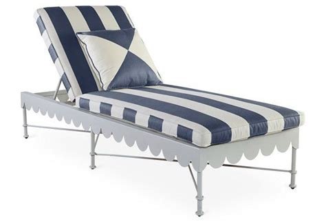 chaise navy awning stripe adjustable chaise navy pool products stripes and navy