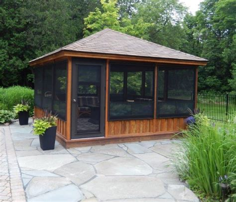 screened gazebo kits plan gazebo ideas gazebo plans kits