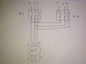 Rangkaian Motor Listrik 3 Phase Dua Arah Putar