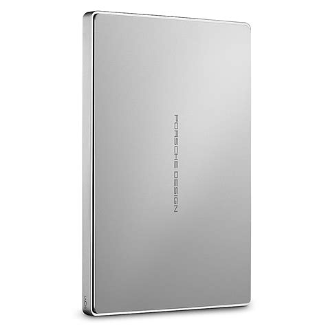 A looker of an external usb drive that lets you to easily share data just about any device. LaCie Porsche Design 2.5 1TB USB 3.1 silver (STFD1000400) | T.S.BOHEMIA