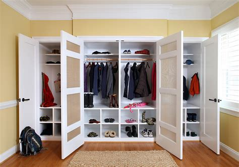 Solutions For Rooms Without Closets by Mud Room Closet