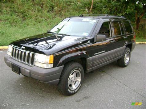 black jeep cherokee 1998 black jeep grand cherokee laredo 4x4 37423985 photo