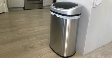 To Clean Stainless Steel Trash Cans