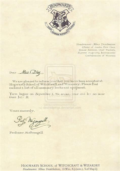 hogwarts acceptance letter template tristarhomecareinc